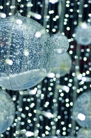 Sparkle silver balls photo