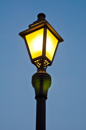 Vintage street lamp Stock Photo - 16974034