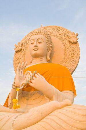 stone buddha: Ancient stone buddha statue  Stock Photo