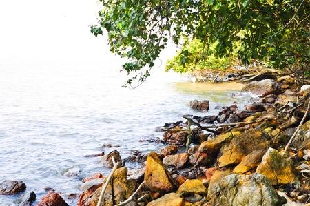 dunquin: Stone beach in Thailand