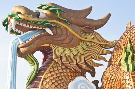 Dragon face in Thailand