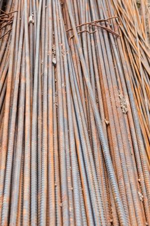 reinforcing: Reinforcing steel bars