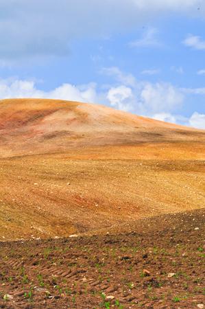 Landscape of desert mountain wallpaper  photo