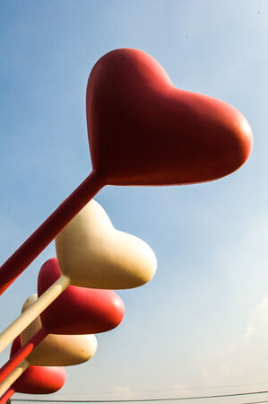 Heart balloon  photo