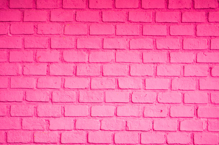 brick background: Pink color of brick wall