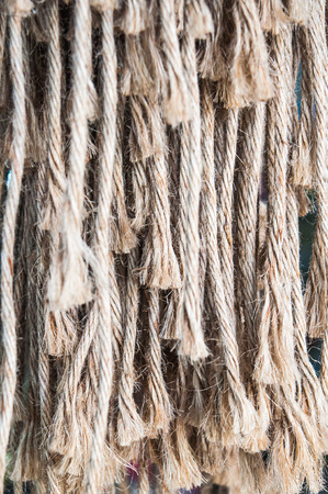 frayed: Frayed rope
