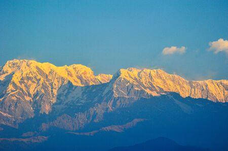 apogee: Big mountain in Pokhara,Nepal