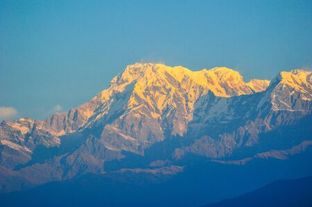 pokhara: Top of the mountains in Pokhara,Nepal