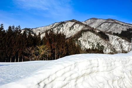 ball lump: Texture of garth snow on the snowy mountains Stock Photo