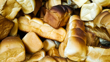 Close up of breads