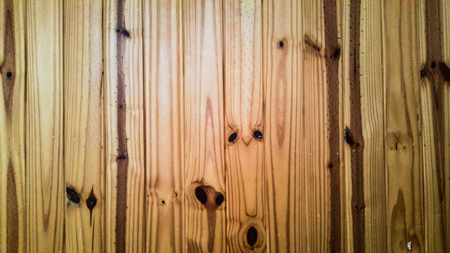 Bright and shadow on the pine wood wall Stock Photo - 89583659