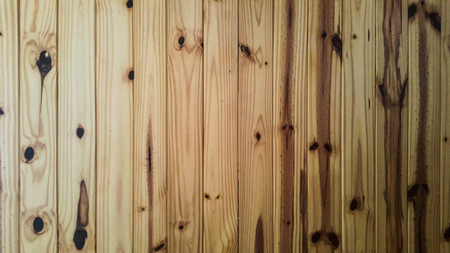 Beautiful texture of pine wooden wall