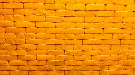 Yellow brick wall Stock Photo - 90177505