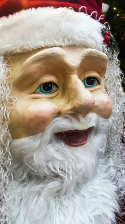 Santa Claus symbol of christmas day Stock Photo