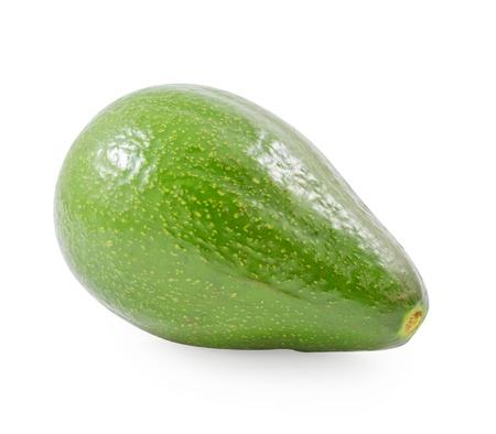 Avocado isolated on white photo