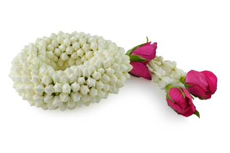 malai: Malai The flower in Thai Tradition Style