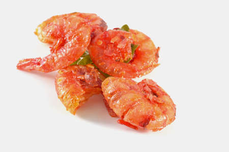 a very delicious food - dried shrimp photo