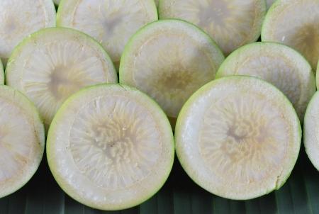 betelnut: Sliced betel-nut Stock Photo