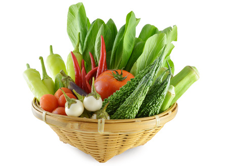 Colorful vegetables photo