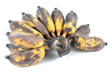 Brown Over Ripe Banana isolated  photo