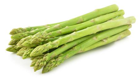 rijpe groene asperges