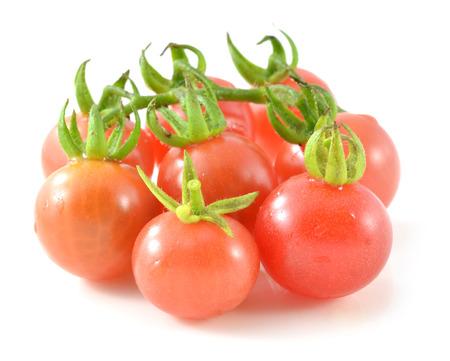 tomatoes isolate on white background photo
