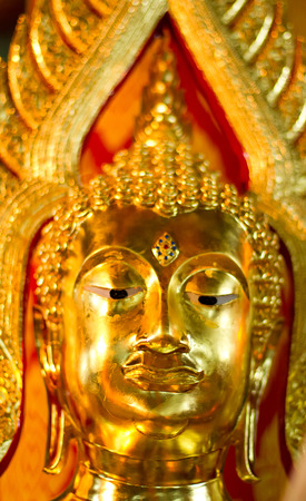 idolatry: Thai Buddha Golden Statue. Buddha Statue in Thailand