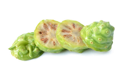 noni: Noni on white