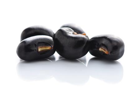 Beans isolated on white background photo