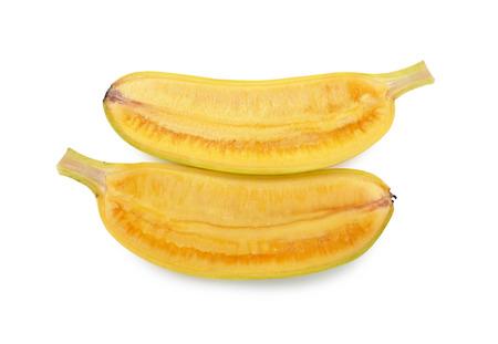 banana on white photo