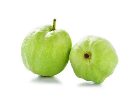 dietetical: Guavas isolated on white background