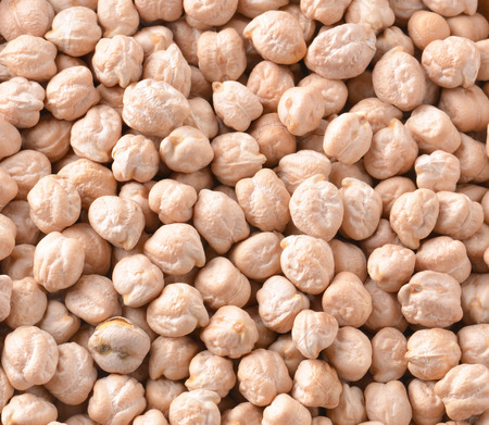chickpeas isolated on background