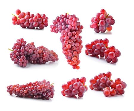 grape isolated on white Stock Photo