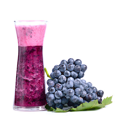 grape juice : lifestyle natural healthy drink on white. Stock fotó