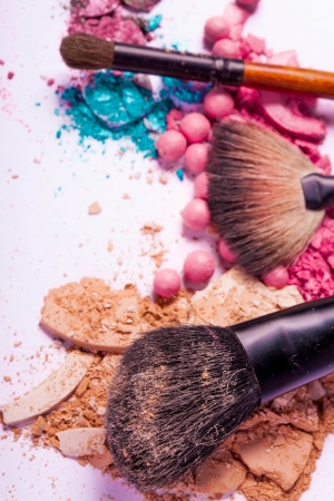 make-up accessories for creative visage photo