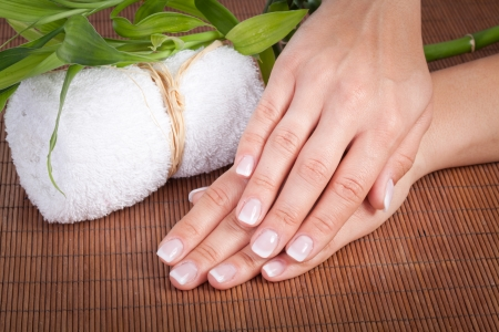 pedicure: manicure Stock Photo