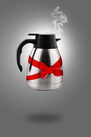 stainless electric kettle  photo