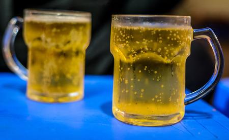 Bia Hoi Vietnamese beers Banco de Imagens