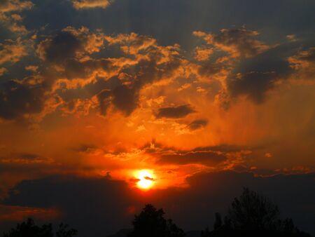 Burning Sunset 2