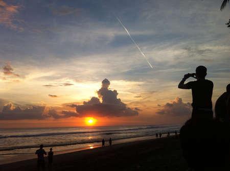 seminyak: seminyak bali - indonesia Stock Photo