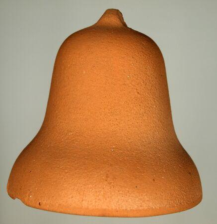 Handmade clay bell photo