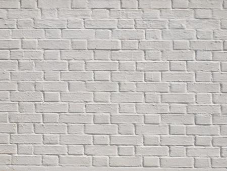 A white brick wall
