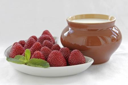 Strawberries photo