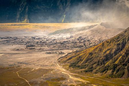 Bromo Volcano Stock Photo