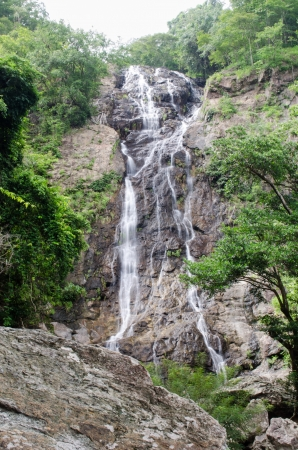 Sarika waterfall, Nakornnayok, Thailand  photo