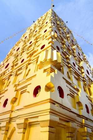 Bodhgaya-style stupa in Thailand photo