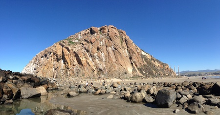 Big rock little rock. Stok Fotoğraf