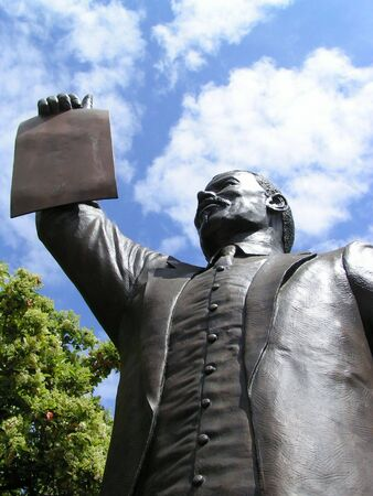 proclamation: Proclamation of Emancipation Stock Photo