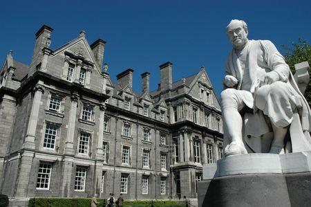 Trinity College in Dublin City, Ireland photo