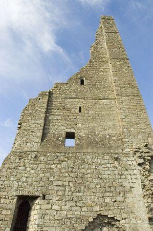 meath: Trim Castle in Meath, Ireland Stock Photo